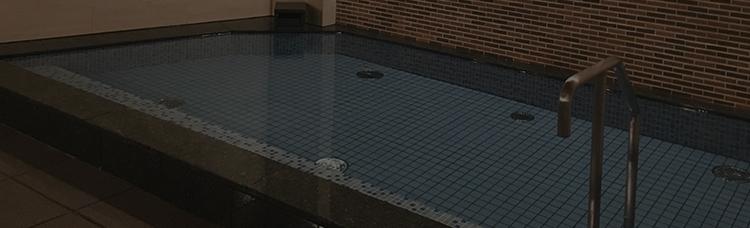 宿泊者専用大浴場完備